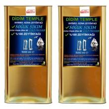 10 LT  Didim Temple Soğuk Sıkım Erken Hasat Natürel Sızma Zeytinyağı  Didim