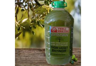 Zeytinyurdu Natürel Birinci Zeytinyağı 5 LT Bayındır(Yemeklik Zeytinyağı)