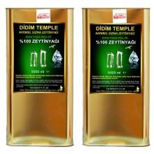 10 LT  Didim Temple Erken Hasat Natürel Sızma Zeytinyağı Didim